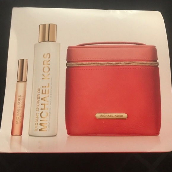 Michael Kors Wonderlust Travel Set Brand New $78 NWT